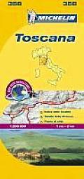 Michelin Map Italy Toscana 358