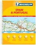 Michelin Spain & Portugal Tourist & Motoring Atlas