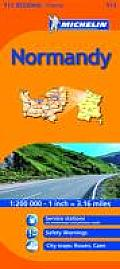 Michelin Map France: Normandy 513 (Michelin Maps)