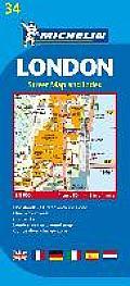 Michelin Map London #34