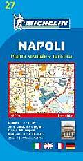 Michelin Map Naples (Napoli) #27