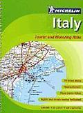 Italy Tourist & Motoring Atlas (Michelin Italy Tourist & Motoring Atlas)