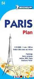 Michelin Paris Street Map No. 54, 3e