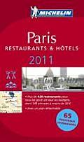 Michelin Red Guide Paris 2011 Hotels & Restaurants 99th Edition