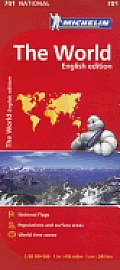 Michelin World Map 701 Cover