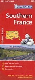 Michelin Southern France Map