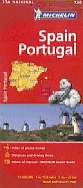 Michelin Spain & Portugal Map
