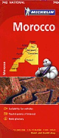 Michelin Maps #742: Michelin Maroc