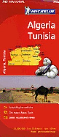 Michelin Map Algeria/Tunisia