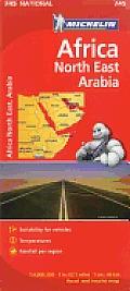Africa Northeast & Arabia Map 4th Edition