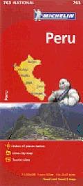 Michelin Map Peru 2nd Edition