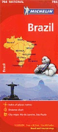 Michelin Brazil Map