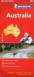 Michelin Australia Map 785