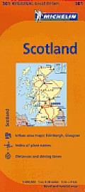 Michelin Great Britain Scotland Map 501