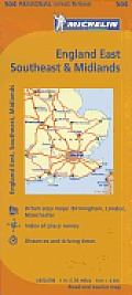Great Britain England Southeast Midlands & East Anglia Map 10th Edition