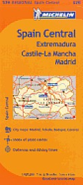 Michelin Spain Central, Extremadura, Castilla-la Mancha Madrid