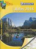 Michelin North America Large Format Atlas 2014 (Atlas)