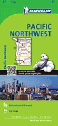 Michelin Maps #171: Michelin USA Pacific Northwest