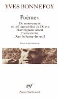 Poemes Du Mouvement Et De...