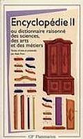 Encyclopedie II Ou Dictionnaire Raisonne