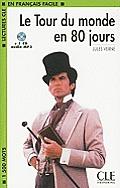 Le Tour Du Monde En 80 Jours [With MP3]