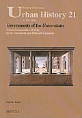 Seuh 21 Governments of the Universitates: Urban Communities of Sicily in the Fourteenth and Fifteenth Centuries