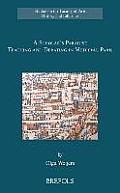 A Scholar's Paradise: Teaching and Debating in Medieval Paris