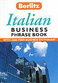 Berlitz Business Italian Phrase Book