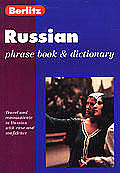 Berlitz Russian Phrase Book & Dictionary Cover