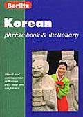 Berlitz Korean Phrase Book (Berlitz Phrase Books)