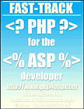 Fast-Track PHP for the ASP developer