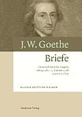 Johann Wolfgang Goethe. Briefe, Band 6, Anfang 1785 - 3. September 1786