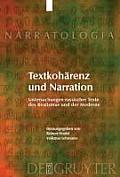 Narratologia #15: Textkoharenz Und Narration