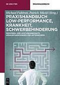Praxishandbuch Low-performance, Krankheit, Schwerbehinderung