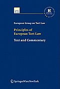 Principles of European Tort Law Cover