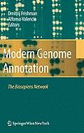 Modern Genome Annotation: The BioSapiens Network