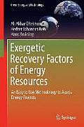 Exergetic Recovery Factors of Energy Resources: An Easy to Use Methodology to Assess Energy Projects (Green Energy and Technology)