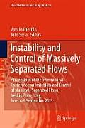 Fluid Mechanics and Its Applications #107: Instability and Control of Massively Separated Flows: Proceedings of the International Conference on Instability and Control of Massively Separated Fl
