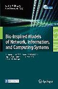 Bio-Inspired Models of Network, Information, and Computing Systems: 7th International Icst Conference, Bionetics 2012, Lugano, Switzerland, December 1