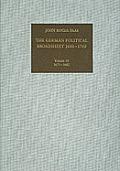 The German Political Broadsheet 1600-1700; V.10: 1671-1682.