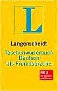 Langenscheidt Taschenwörterbuch Deutsch Als Fremdsprache