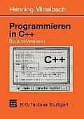 Programmieren in C++ Borland-Versionen: Ein Lehr- Und Ubungsbuch