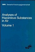 Analyses of Hazardous Substances in Air, Vol. 1 Cover