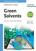 Handbook of Green Chemistry, Green Solvents, Supercritical Solvents (Handbook of Green Chemistry)