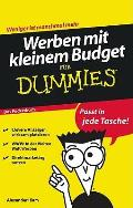 Werben Mit Kleinem Budget Für Dummies. Das Pocketbuch