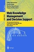 Web Knowledge Management and Decision Support: 14th International Conference on Applications of PROLOG, Inap 2001, Tokyo, Japan, October 20-22, 2001,