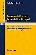Representations of Permutation Groups I