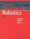 Springer Handbook of Robotics with DVD ROM Cover