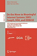 On the Move To Meaningful Internet Systems 2005: Coopis, Doa, and Odbase Cover