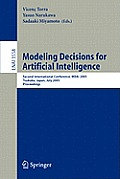 Modeling Decisions for Artificial Intelligence: Third International Conference, Mdai 2006, Tarragona, Spain, April 3-5, 2006, Proceedings